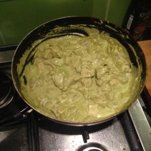 Recept - Courgetti Pesto