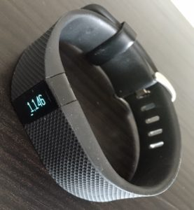 Fitbit Charge HR stappenteller