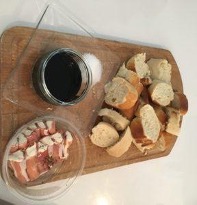 Broodplank met ham en roomkaas kookclub