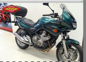 Motor Yamaha XJ600, motormuis