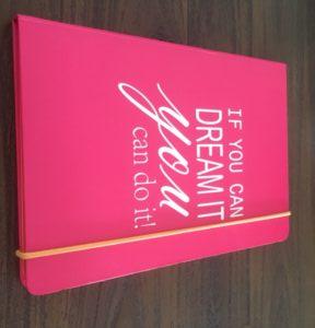 Gekocht notitieboekje