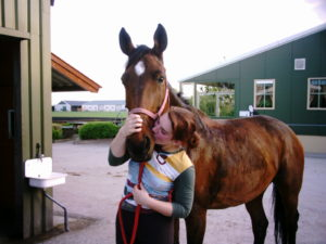 Weetje paardenmeisje