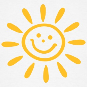 zon-smiley-zomer-lente-vakantie-energie-t-shirts-mannen-t-shirt