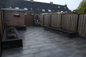 tuin verbouwing achtertuin