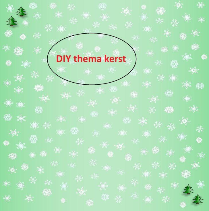 8x DIY inspiratie, creatief met het thema kerst
