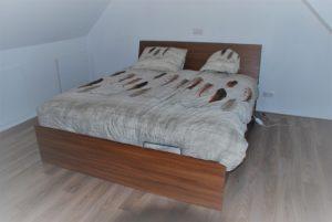 Nieuwe garderobe voor ons bed