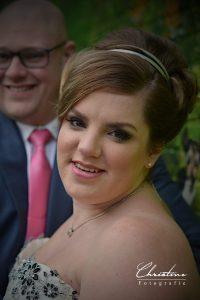 Christine (1) getrouwd, fotoshoot