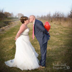 Annika, fotoshoot, trouwdag, getrouwd