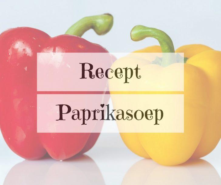 Recept – Paprikasoep