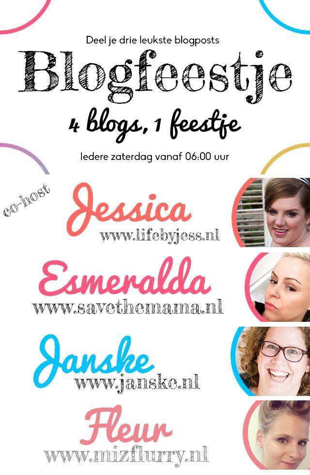Blogfeestje #25 en ik ben Co-Host!
