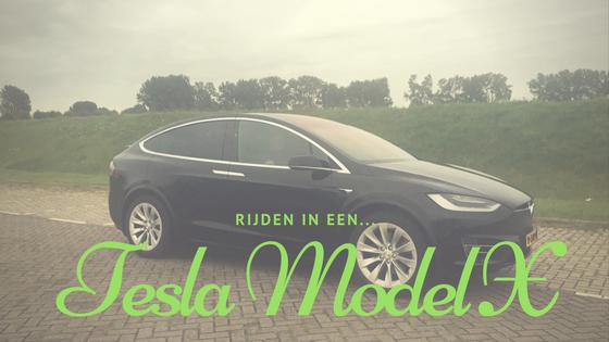 Gaaf! Rijden in een Tesla Model X