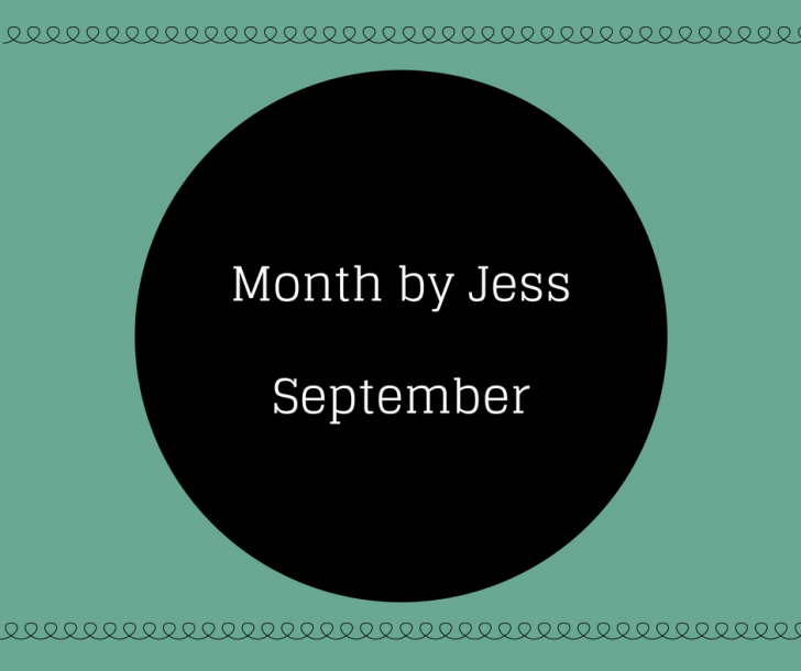 Month by Jess # September een drukke maand
